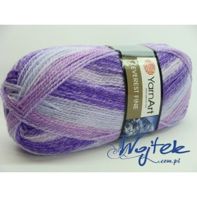 Everest Fine Yarn Art włóczka 200g kol. 8033 mix