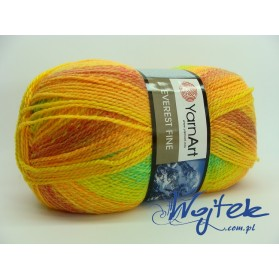 Everest Fine Yarn Art włóczka 200g kol. 8032 mix